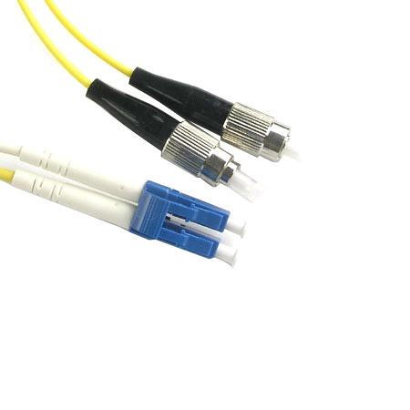 FC-APC to LC-PC Patch Cord - FC-APC to LC-PC Patch Cord